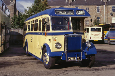 Preserved CWG283 King St Depot Abdn Sep 01