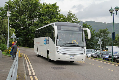 Glasgow Citybus FJ56OBX An Aird Fort William 1 Jul 14