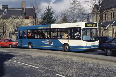 Arriva SW 863 Incle St Paisley Mar 99