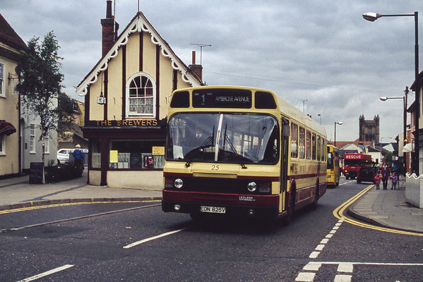 Colchester Borough Transport September 1994