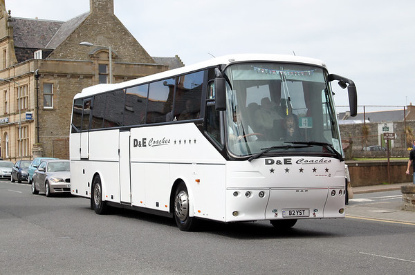 D and E Coaches, Inverness