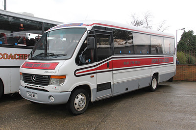 Anns Coaches Kirkintilloch 3401AC Depot Waterside Mar 14