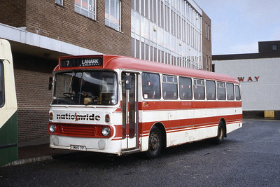 Nationwide Lanark MHS7P Hamilton Bus Stn Jan 90