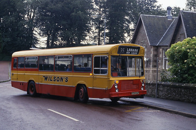 Wilson Carnwath OCW454P Above New Lanark Aug 87