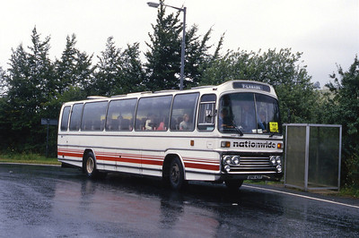 Nationwide Lanark XPK43T Kirkfieldbank Aug 87