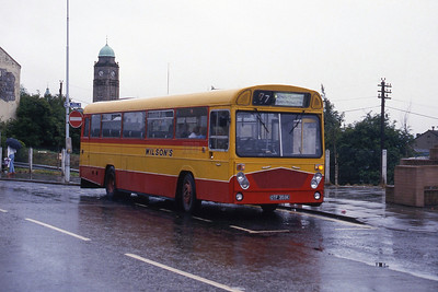 Wilson Carnwath OTF359K Motherwell Railway Station Aug 87