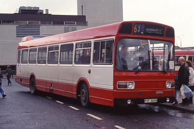 Beaton Blantyre PVF365R Hamilton Bus Stn Nov 91