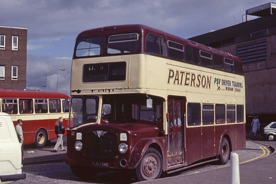 Paterson PSV Training GJG734D Hamilton Bus Stn Apr 89