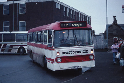 Nationwide Lanark MHS6P Lanark Bus Station Dec 90