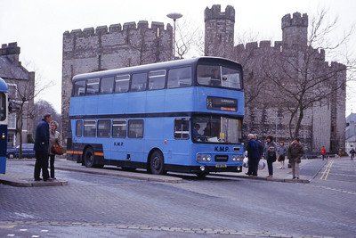 Williams LLanberis VMM88L Caernarfon Bus Station Apr 87