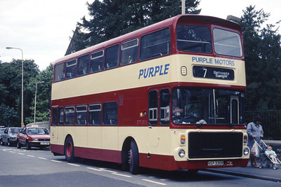 Purple Motors Bethesda NSP330R Town Clock Bangor May 88