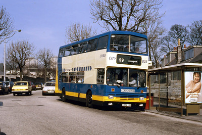 Northern NLO79 Cornhill Rd Abdn May 87