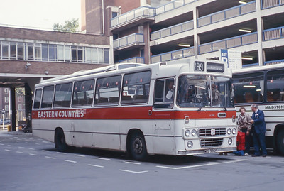 Eastern Counties LL748 Victoria Coach Stn London Sep 83