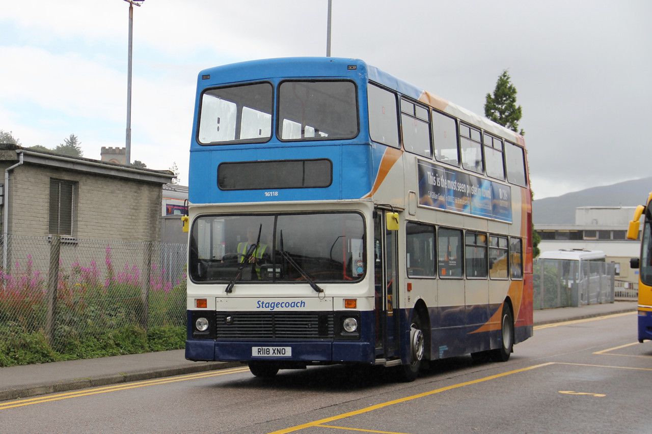 Stagecoach Highlands 16118 An Aird Fort William Aug 13