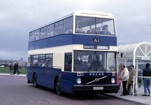A1 Service (Ayrshire Bus Owners) in the 1980's and 1990's