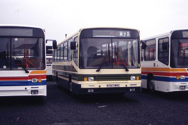 Alexander's Coachworks Falkirk September 1995