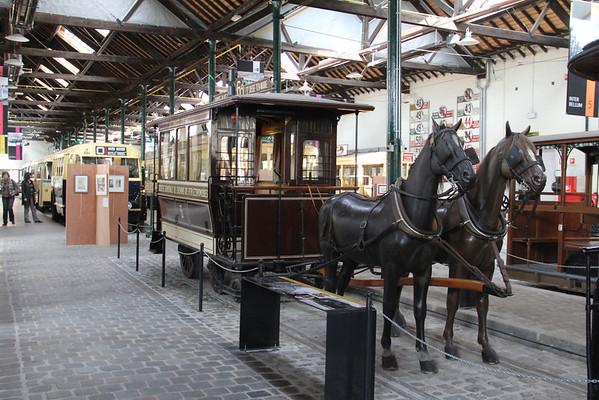 Belgium : Brussels Tram Museum April 2013