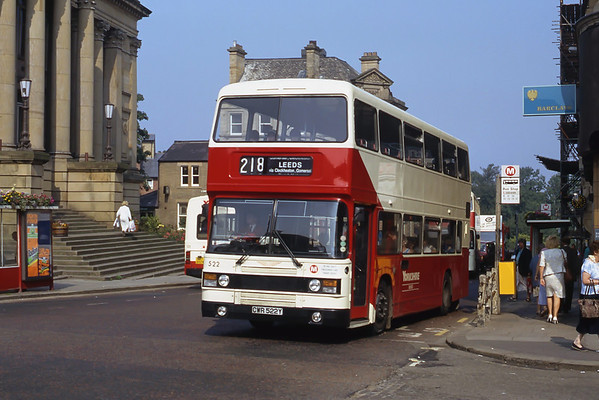 Caldaire Group's Yorkshire Fleets; Yorkshire Woollen and West Riding's Buses and Coaches late 1980's and early 1990's