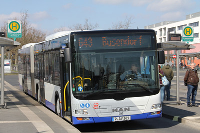 BVSG 2361 Hauptbahnhof Potsdam Apr 16