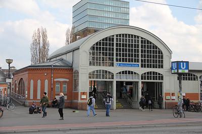 BVG Warschauerstrasse Bahnhof Berlin Apr 16