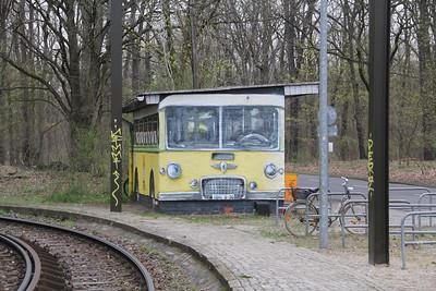 BVG Toilet block Waldschänke Rahnsdorf Berlin 1 Apr 16