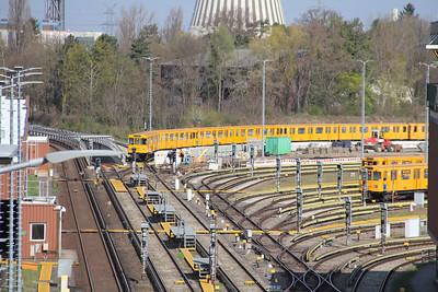 BVG Olympia Stadion Line Up Berlin 2 Apr 16