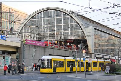 BVG 9011_DB set Alexanderplatz Bahnhof Berlin Apr 16