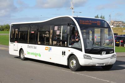 Garelochead Coaches YD14BDE Riverside Museum Glasgow 2 Sep 15