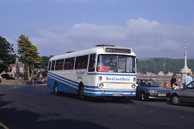 Bus and Coach Rental Dennistoun OSJ628R Millport Aug 91