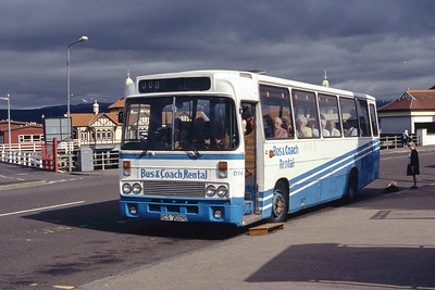 Bus and Coach Rental Dennistoun RCS702R Dunoon Pier Jun 94