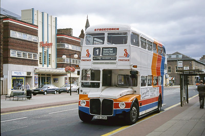 Stagecoach Scotland 614 Mill St Perth Aug 94